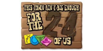 Kickstarter Tabletop Alert: This Town Ain't Big Enough for the 2-4 of Us