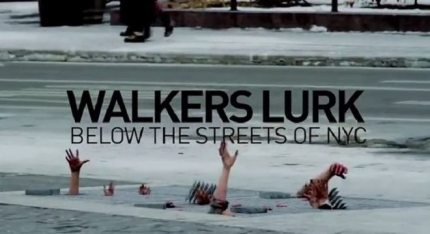 That Time Zombies Reached Out From a NYC Sidewalk Grate [Video]
