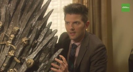 Ben From Parks And Recreation Loses It When He Gets An Iron Throne