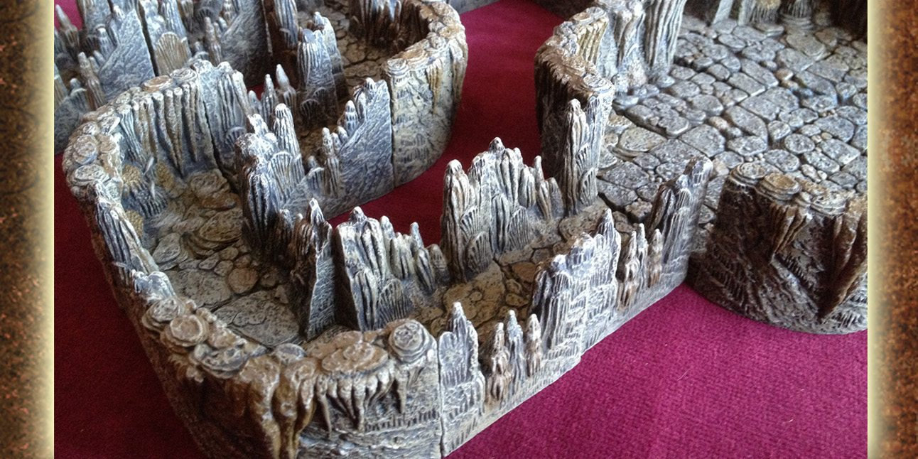 Dwarven Forge Returns to Kickstarter With Caverns