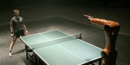 Man vs. Machine: Ping Pong Champ Wins One for Humanity