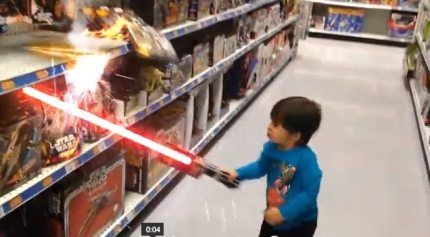 Kid's Imagination + DreamWorks Animator Dad = Action Movie Kid