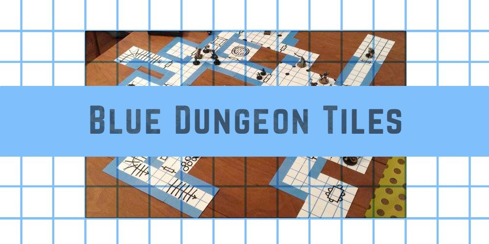 Kickstarter Alert: Build Your Own Dungeon With Blue Dungeon Tiles