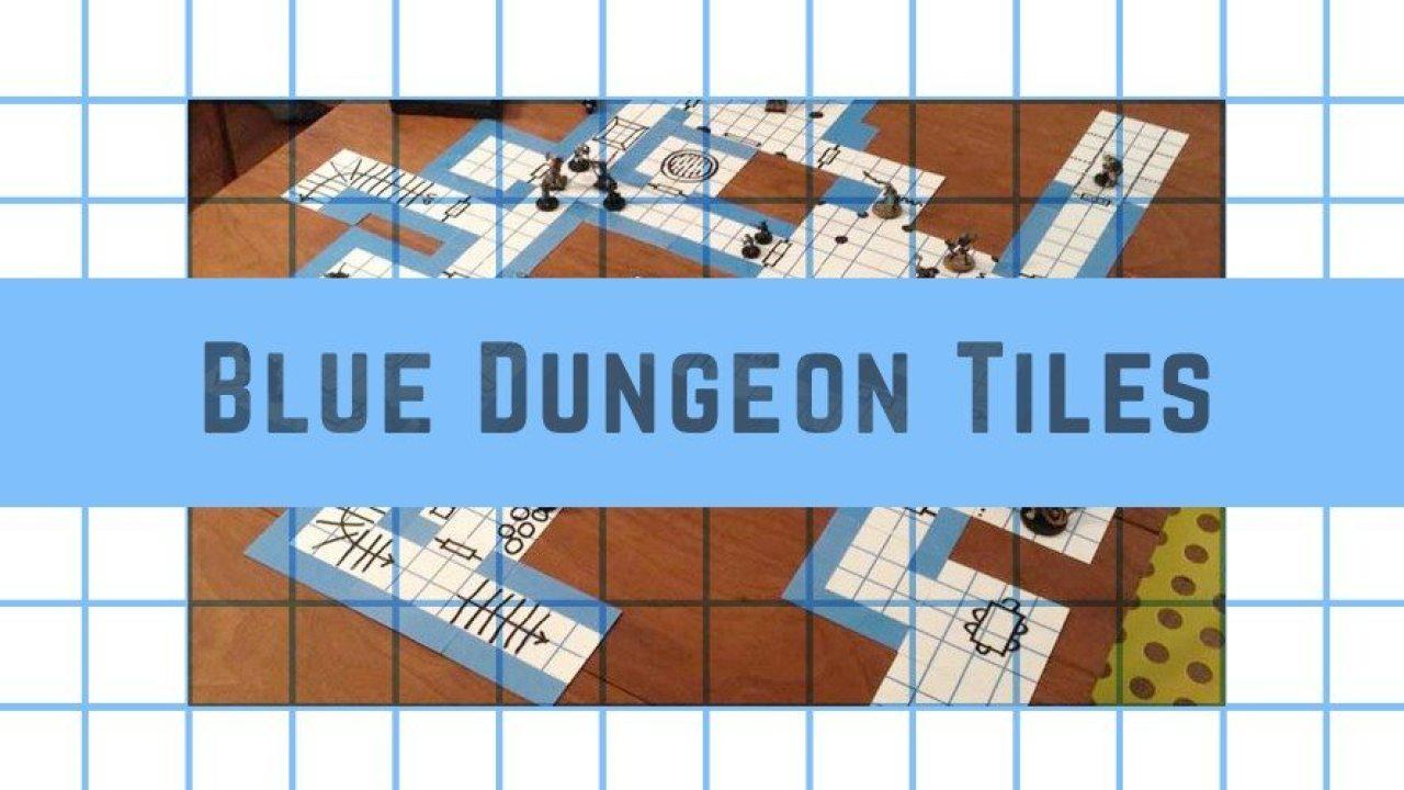 Kickstarter Alert: Build Your Own Dungeon With Blue Dungeon