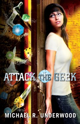 Cooking the Books: Attack the Geek with Michael R. Underwood & Giveaway!