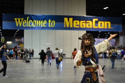 Orlando Geeks Unite! It's Time for MegaCon 2015