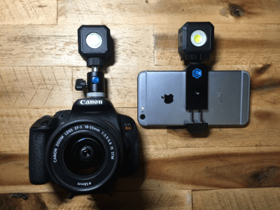 Lume Cube is back on Kickstarter with a smartphone-friendly light source