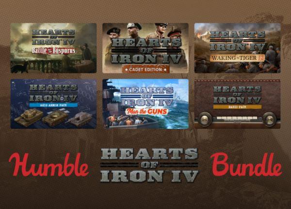 Humble Bundle - Hearts of Iron IV