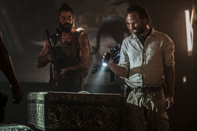 Ο Walton Goggins ως Mathias Vogel στο Tomb Raider