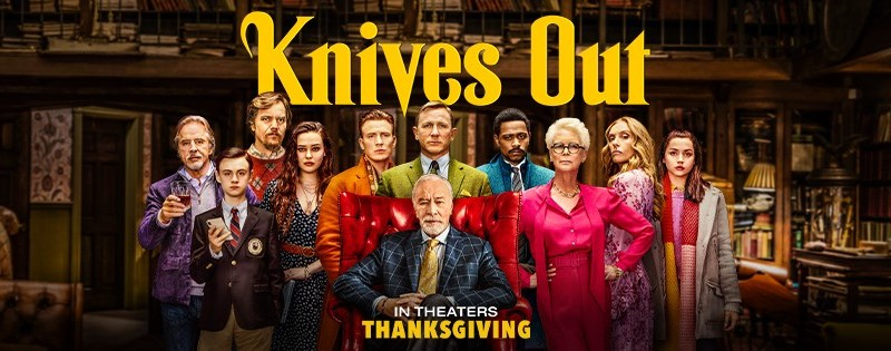 Image result for knives out poster banner