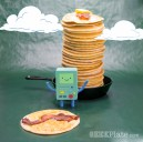 Adventure Time Bacon Pancakes