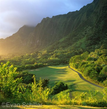 15th at Ko'olau Golf Club