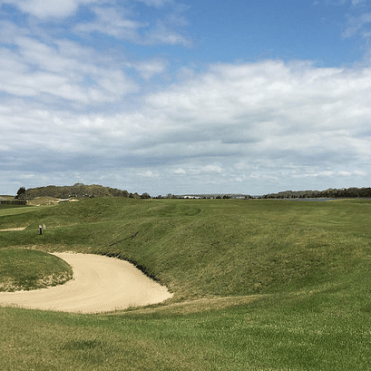 #12 at National Golf Links of America - photo by Jon Cavalier.