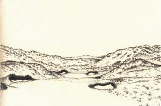 Royal County Down sketch