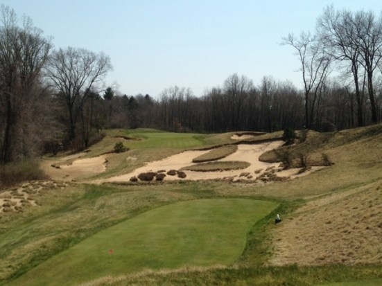 #6 - High, medium, and low tee boxes give different looks from the same angle
