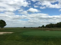 #4 - Par 4 - Green behind from 5th tee
