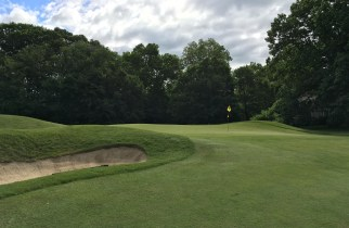 #4 - Par 4 - Short left of the green