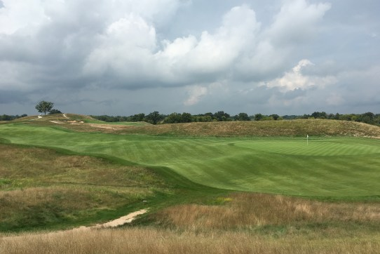 17th at Erin Hills