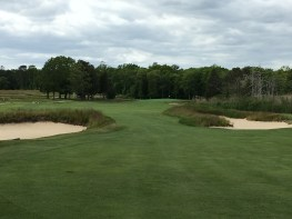 #5 - par 4 - Fairway bunkers that must be challenged for the best approach