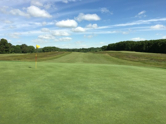 #8 - Par 5 - Green back to another rolling fairway