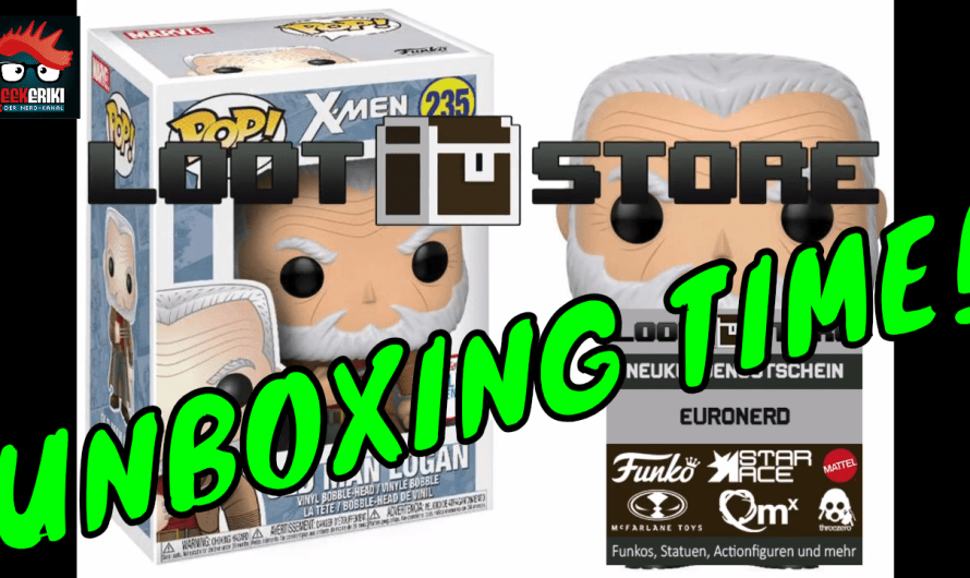 FUNKO POP UNBOXING MARVEL OLD MAN LOGAN