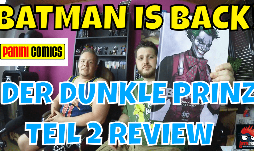 COMIC REVIEW BATMAN DER DUNKLE PRINZ BAND 2  ENRICO MARINI