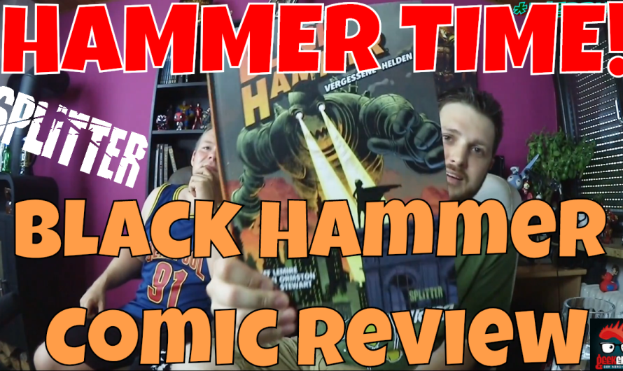 COMIC REVIEW  BLACK HAMMER BAND 1 VERGESSENE HELDEN