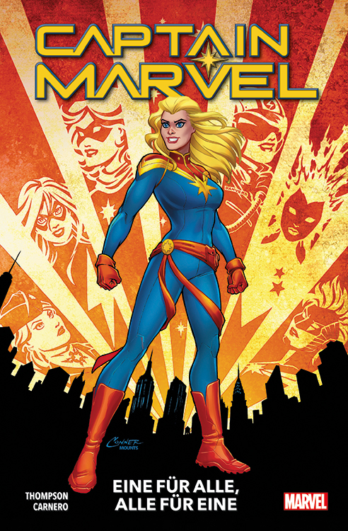 Captain Marvel Softcover