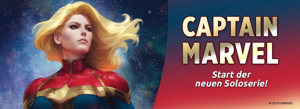 Captain Marvel Panini Neustart