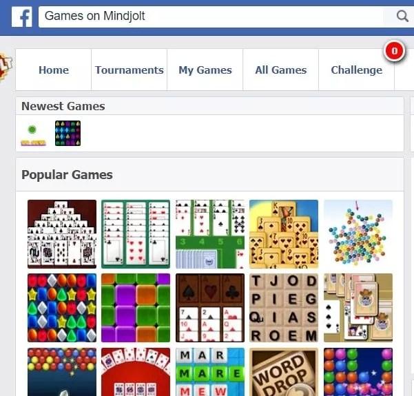 Mindjolt Games Not Loading On Facebook | Games World