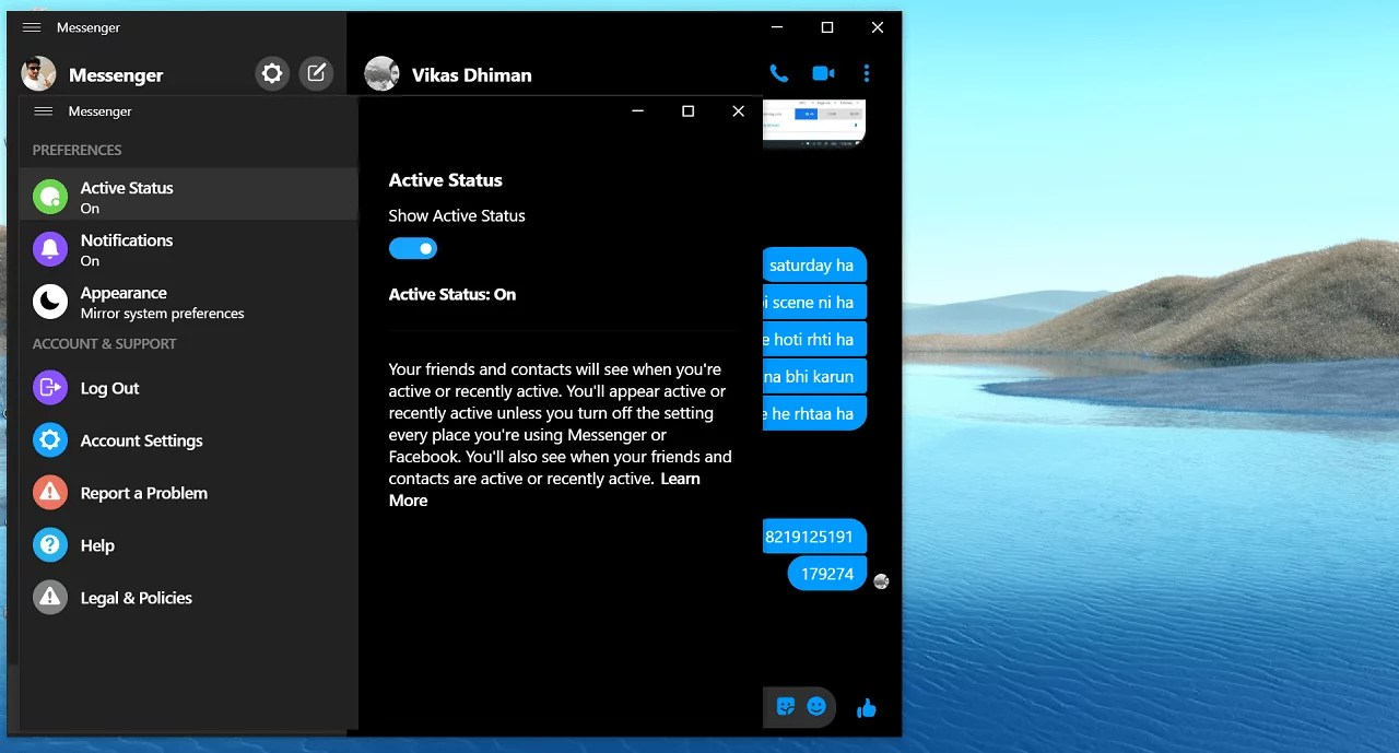 Download New Facebook Messenger App for Windows 10