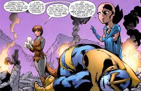 Squirrel Girl beats up Thanos