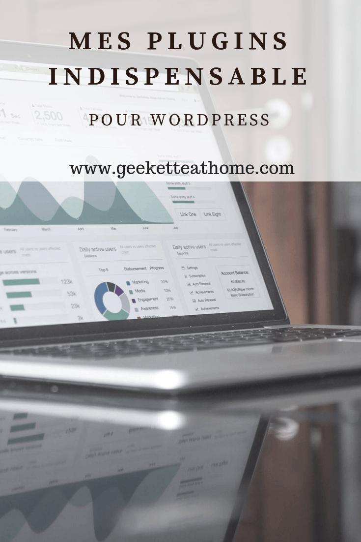 mes plugins indispensable pour wordpress