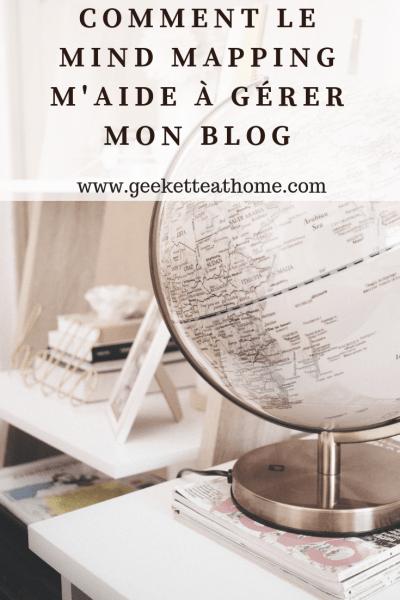 comment le mind mapping m'aide à gérer mon blog