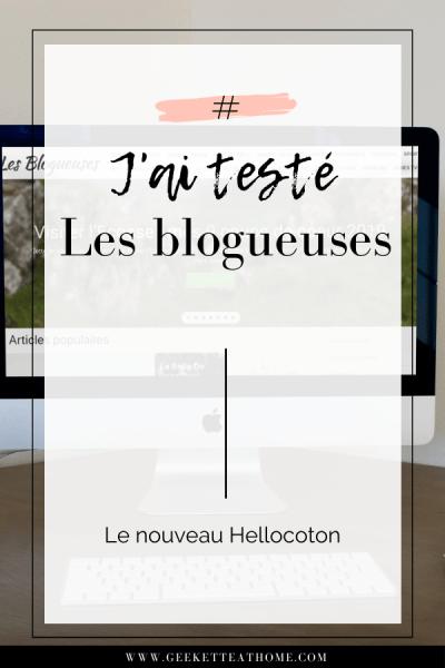 j'ai testé les blogueuses, le nouveau Hellocoton