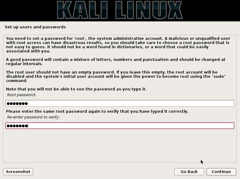 kali-root-password