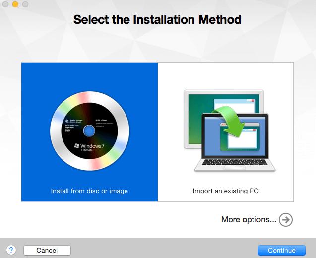 vmware-installation-method