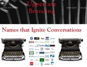 uppercase branding interview small business show