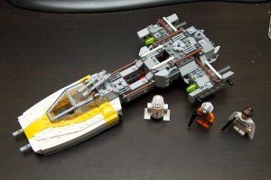Y-Wing with the cockpit