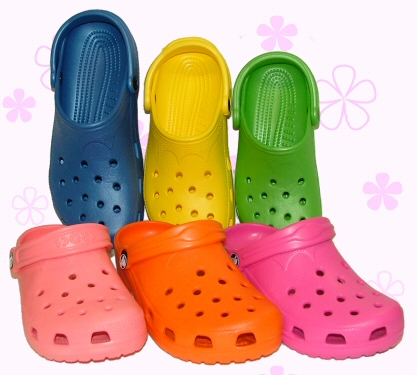 Colorful Crocs