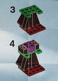 LEGO 40070 instructions excerpt