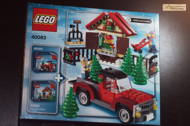 Christmas tree truck box back