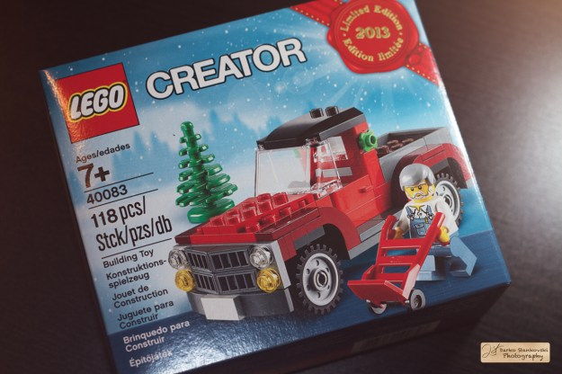 Christmas tree truck box front