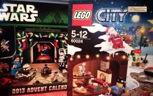LEGO Advent calendars 2013