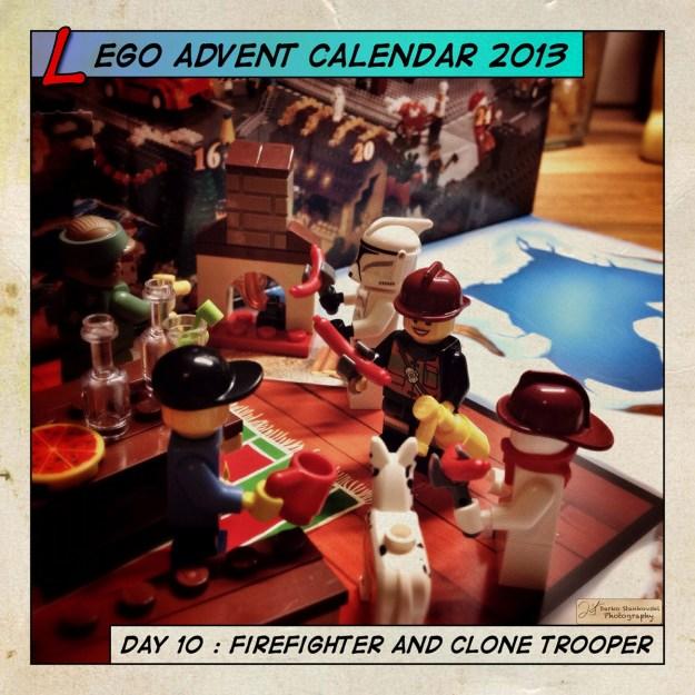 LEGO Advent Calendar 2013 day 8