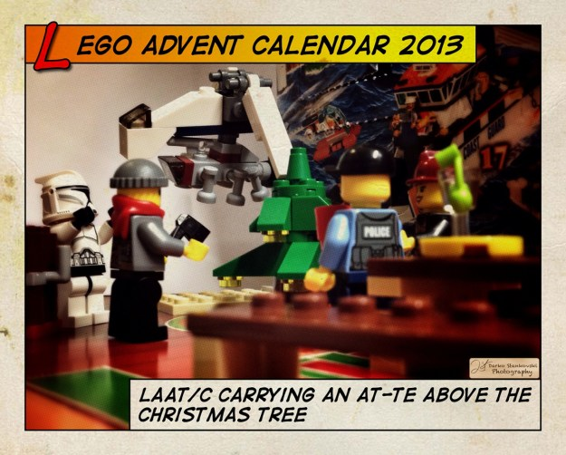 LEGO Advent Calendar 2013 day 12