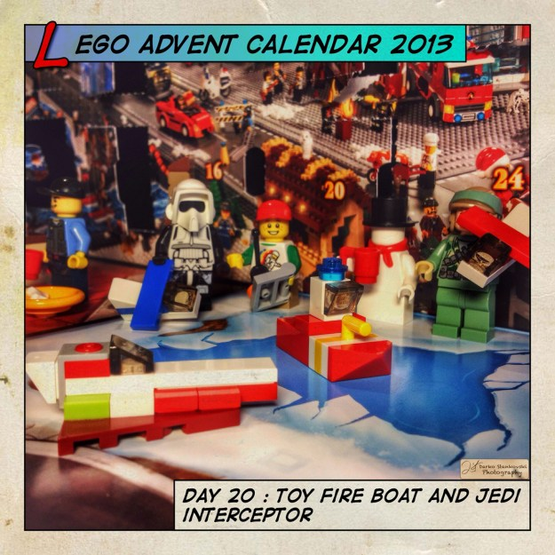 LEGO Advent Calendar 2013 day 20