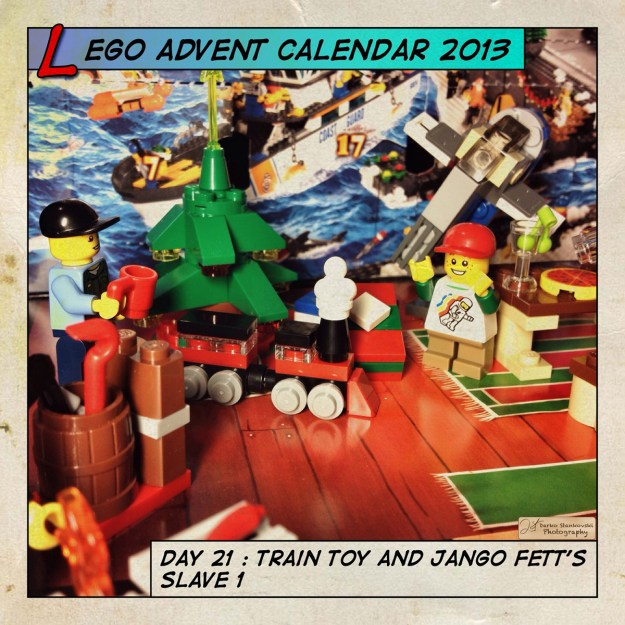 LEGO Advent Calendar 2013 day 21