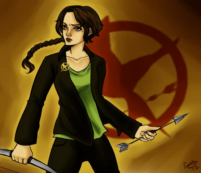 Katniss Paradoxie YA Dystopien