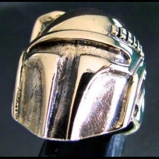Bronze BOBA FETT RING Bounty Hunter Star Wars Ring